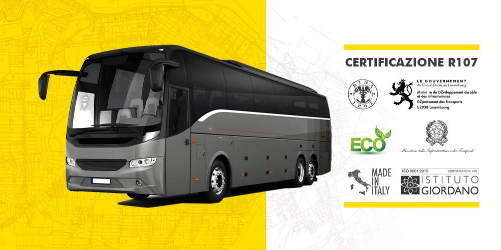 AK0746: la soluzione antincendio per autobus omologata R107